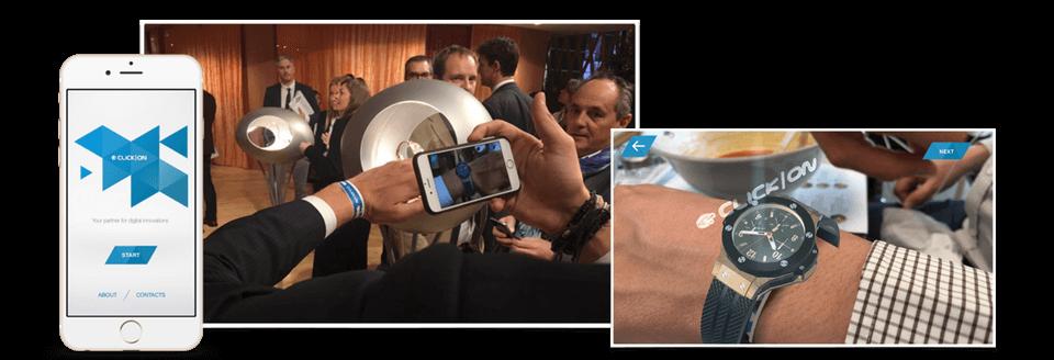 Augmented Reality watch Baselworld