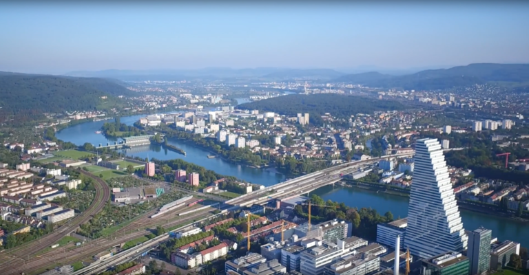 Drone Video - Roche Tower Basel