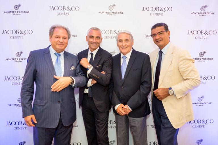 Jacob Arabo and the team in Geneva