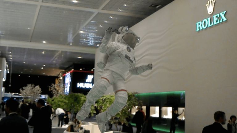 ClickOn Astronaut at Baselworld2017