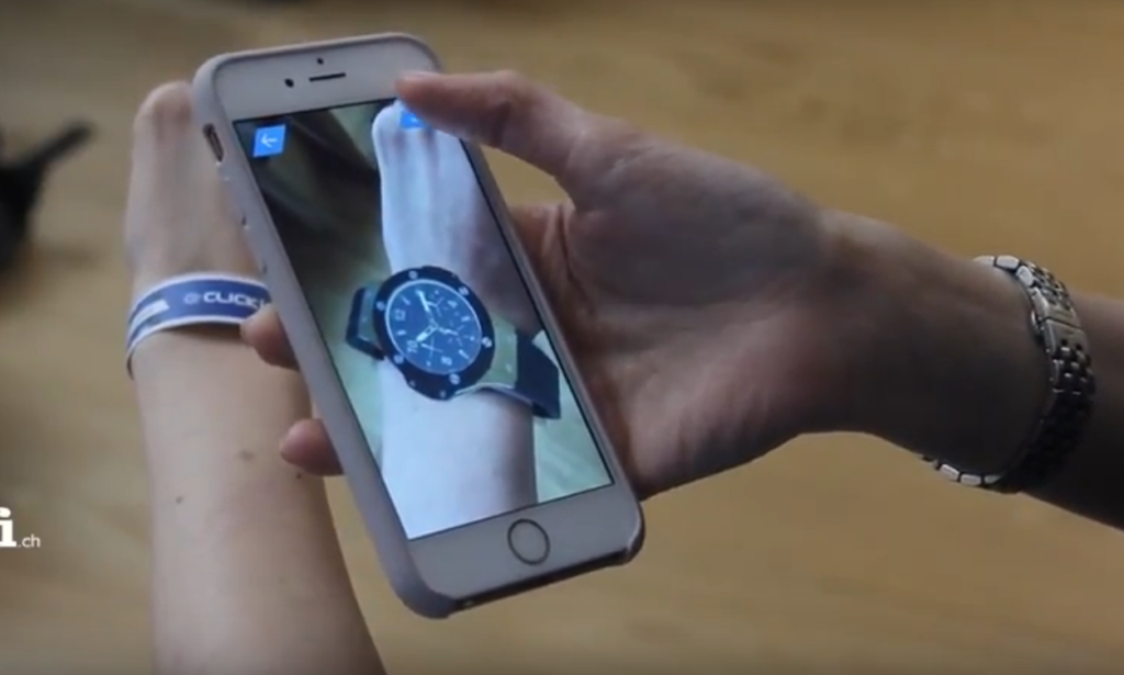 ClickOn Augmented Reality watch for Baselworld 2016 and 2017
