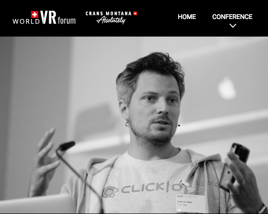 Cornelius Kistler at World VR Forum 2017