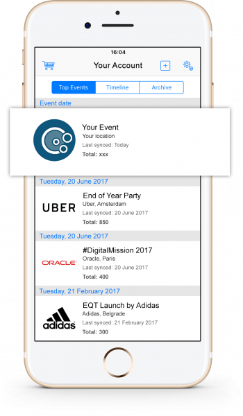 Guest List App - IPhone 7 App Presentation